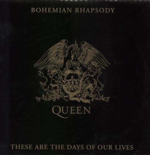 "Queen Bohemian Rhapsody 7"" vinyl single (7 inch record) UK QUE07BO36507"