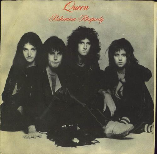 "Queen Bohemian Rhapsody 7"" vinyl single (7 inch record) Yugoslavian QUE07BO09081"