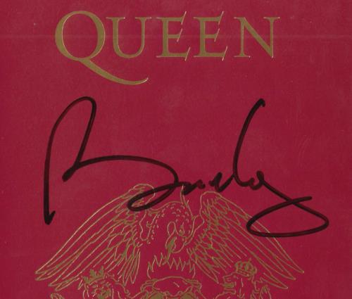 Queen Box Of Flix - Autographed Insert memorabilia UK QUEMMBO714003