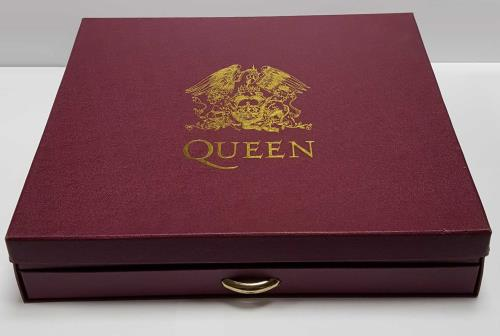 Queen Box Of Tricks CD Album Box Set UK QUEDXBO660533