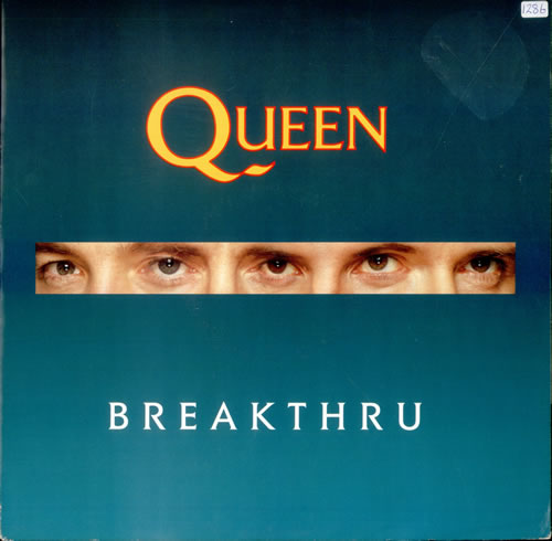 "Queen Breakthru 12"" vinyl single (12 inch record / Maxi-single) UK QUE12BR06529"