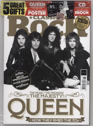 Queen Classic Rock - November 2019 magazine UK QUEMACL735795