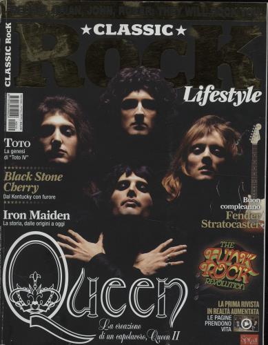 Queen Classic Rock Lifestyle magazine Italian QUEMACL678018