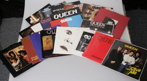"Queen Collection of 20 x 7"" Vinyl Singles 7"" vinyl single (7 inch record) UK QUE07CO568762"
