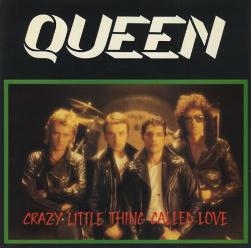 "Queen Crazy Little Thing Called Love - P/S 7"" vinyl single (7 inch record) UK QUE07CR16223"