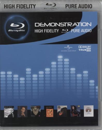 Queen Demonstration Blu Ray Audio UK QUEABDE772799