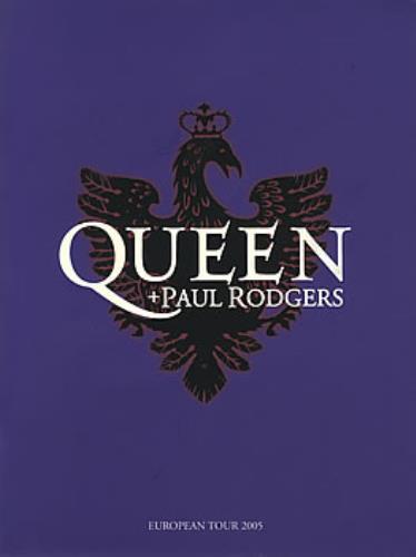 Queen European Tour 2005 + Ticket Stub tour programme UK QUETREU384224