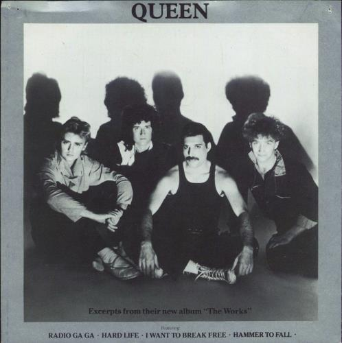 "Queen Excerpts From The Works - Flexi 7"" vinyl single (7 inch record) UK QUE07EX18348"