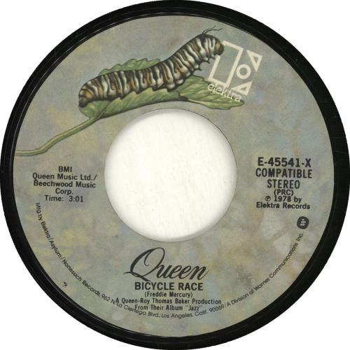 "Queen Fat Bottomed Girls 7"" vinyl single (7 inch record) US QUE07FA703600"