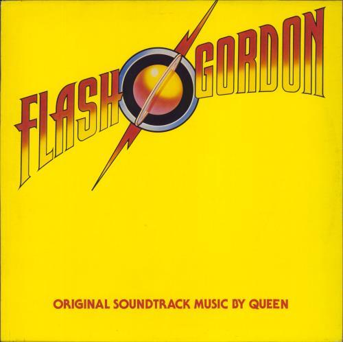 Queen Flash Gordon - Die-cut inner vinyl LP album (LP record) UK QUELPFL214439