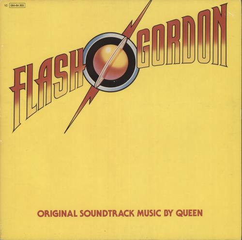 Queen Flash Gordon vinyl LP album (LP record) German QUELPFL718953