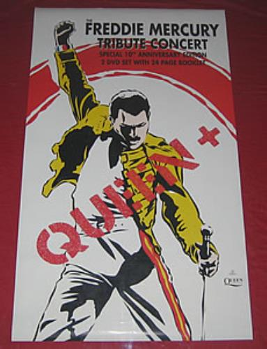 Queen Freddie Mercury Tribute Concert poster UK QUEPOFR354396
