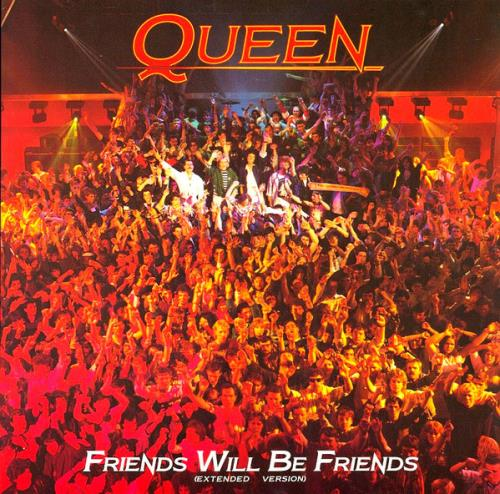"Queen Friends Will Be Friends (Extended Version) 12"" vinyl single (12 inch record / Maxi-single) UK QUE12FR20755"