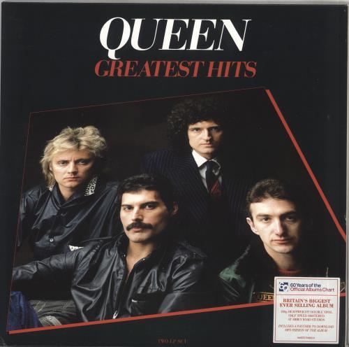 Queen Greatest Hits - 180gm - Sealed 2-LP vinyl record set (Double Album) UK QUE2LGR716807