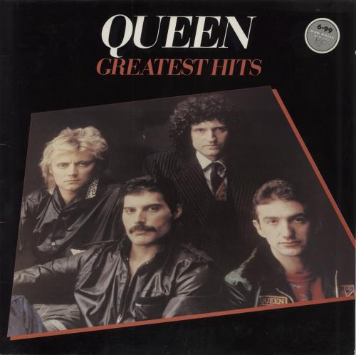 Queen Greatest Hits - Barcoded vinyl LP album (LP record) UK QUELPGR506046