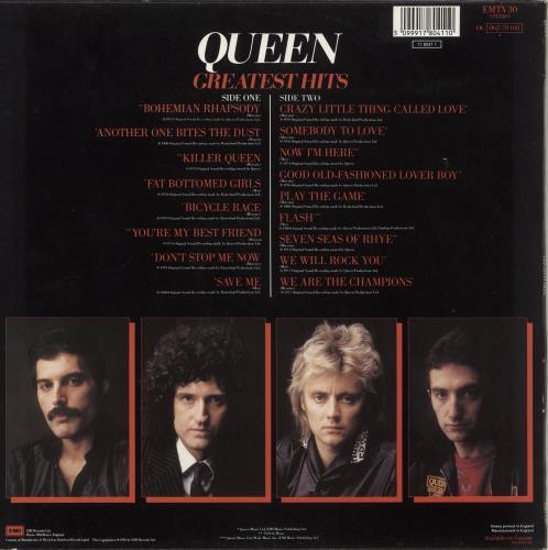 Queen Greatest Hits - Barcoded vinyl LP album (LP record) UK QUELPGR506046