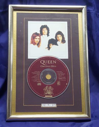 Queen Greatest Hits - Presentation Disc memorabilia UK QUEMMGR700799