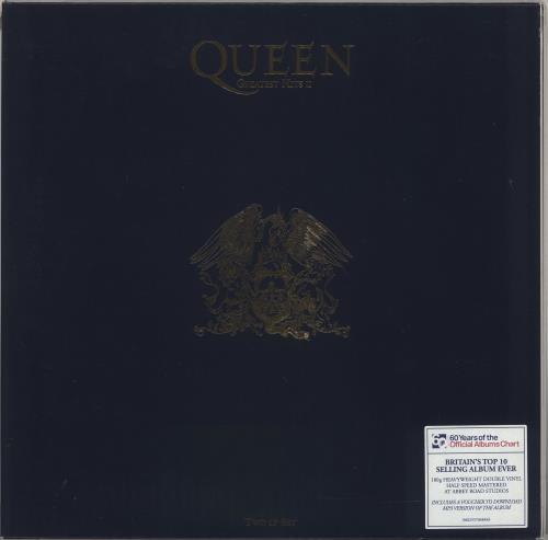 Queen Greatest Hits II - 180gm - Sealed 2-LP vinyl record set (Double Album) UK QUE2LGR696605