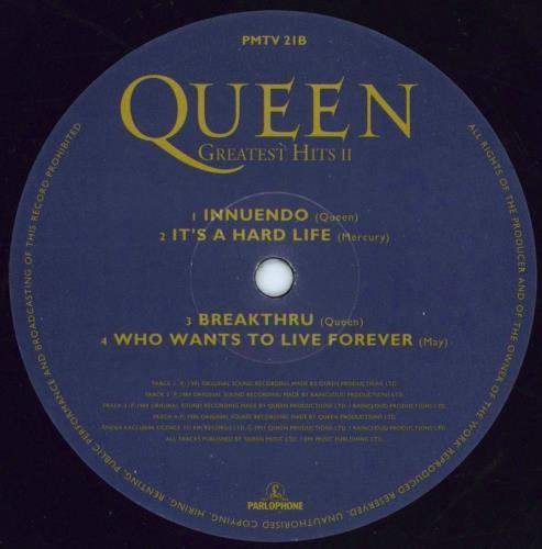 Queen Greatest Hits II - 1st - VG 2-LP vinyl record set (Double Album) UK QUE2LGR774942