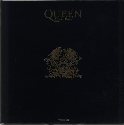 Queen Greatest Hits II - 1st 2-LP vinyl record set (Double Album) UK QUE2LGR197447