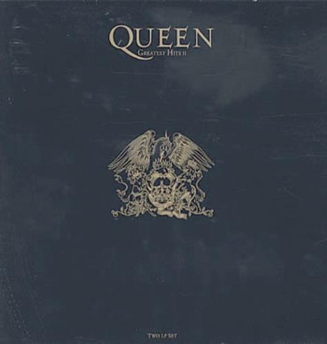 Queen Greatest Hits II - 2nd 2-LP vinyl record set (Double Album) UK QUE2LGR307307