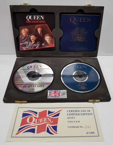Queen Greatest Hits Vols I & II CD Album Box Set UK QUEDXGR425363