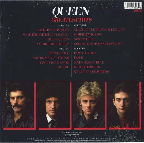Queen Greatest Hits: Target exclusive - Red Vinyl - Sealed 2-LP vinyl record set (Double Album) US QUE2LGR774674