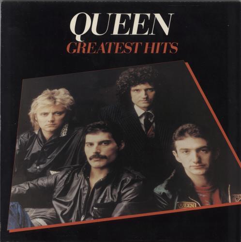 Queen Greatest Hits vinyl LP album (LP record) UK QUELPGR576245