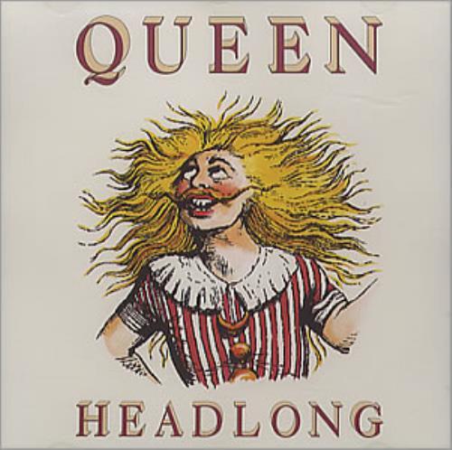 """Queen Headlong CD single (CD5 / 5"""") US QUEC5HE21366"""