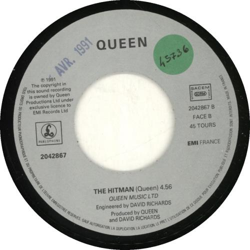 "Queen Headlong 7"" vinyl single (7 inch record) French QUE07HE468039"