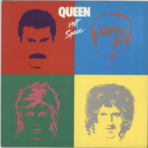 Queen Hot Space - EX vinyl LP album (LP record) UK QUELPHO28005