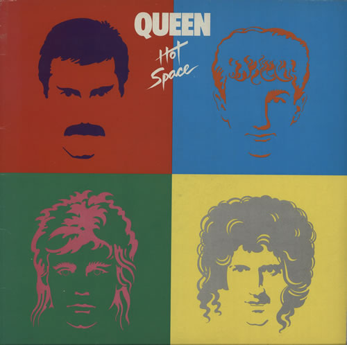 Queen Hot Space vinyl LP album (LP record) UK QUELPHO581801