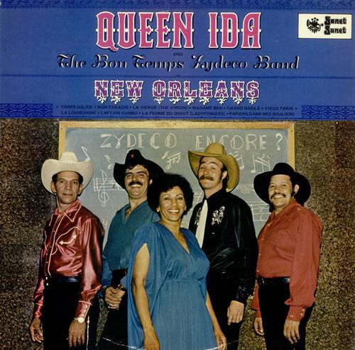 Queen Ida In New Orleans vinyl LP album (LP record) UK QU1LPIN498734