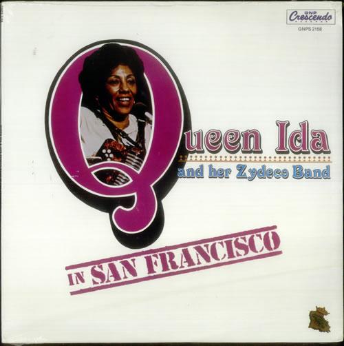 Queen Ida In San Francisco - Sealed vinyl LP album (LP record) US QU1LPIN546250