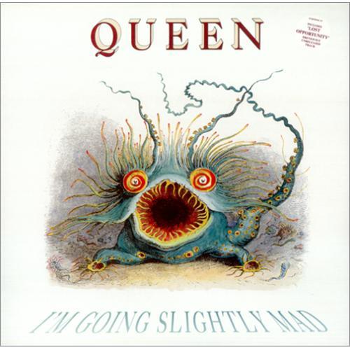 "Queen I'm Going Slightly Mad - Gatefold 12"" vinyl single (12 inch record / Maxi-single) UK QUE12IM48436"