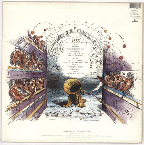 Queen Innuendo - EX vinyl LP album (LP record) UK QUELPIN561420