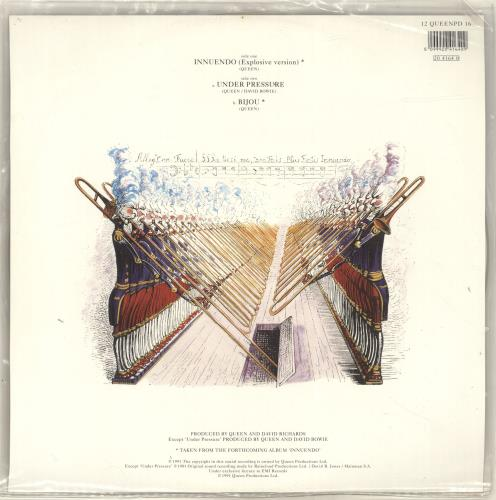 "Queen Innuendo - EX 12"" vinyl picture disc 12inch picture disc record UK QUE2PIN655975"