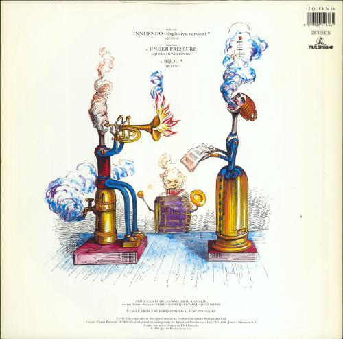 """Queen Innuendo - EX 12"""" vinyl single (12 inch record / Maxi-single) UK QUE12IN768159"""