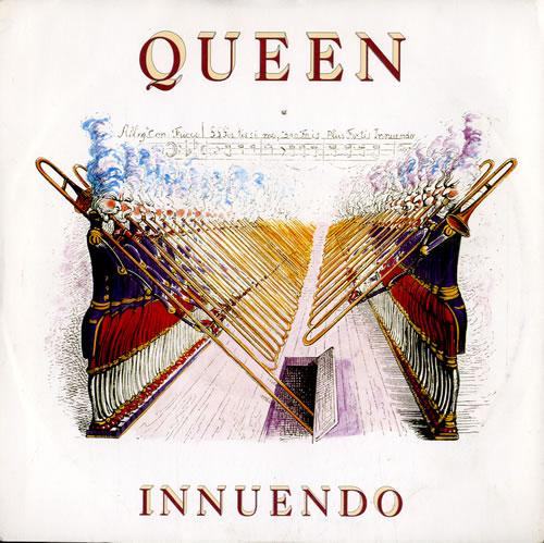 """Queen Innuendo - Inj 7"""" vinyl single (7 inch record) UK QUE07IN585663"""