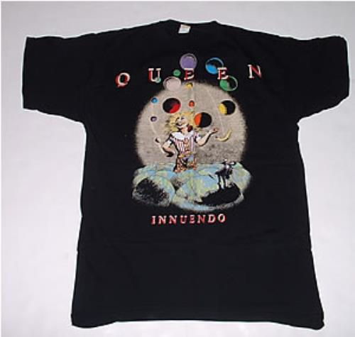 a4787ae3 Queen Innuendo Fan Club Clown T-shirt t-shirt UK QUETSIN248244