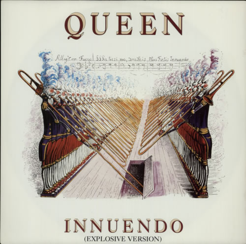 "Queen Innuendo 12"" vinyl single (12 inch record / Maxi-single) UK QUE12IN19310"