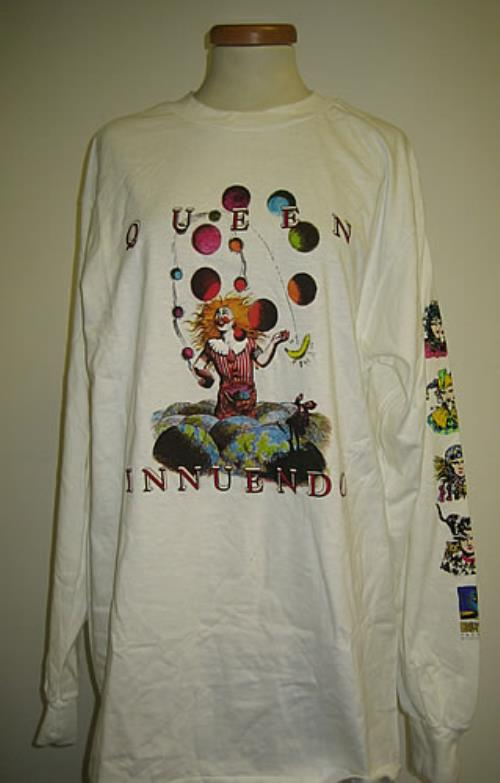 8dbb72a4 Queen Innuendo t-shirt US QUETSIN342805