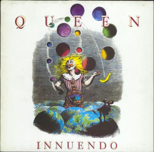 Queen Innuendo vinyl LP album (LP record) German QUELPIN421582