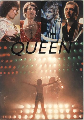 Queen Japan Tour '79 + Ticket Stub tour programme Japanese QUETRJA692367