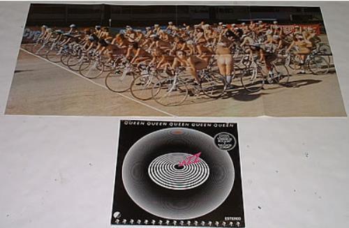 Queen Jazz Poster Mexican Vinyl Lp Album Lp Record