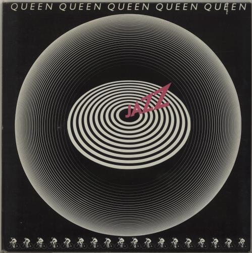 Queen - Jazz (1978) w/Nude Poster Vinyl - Voluptuous