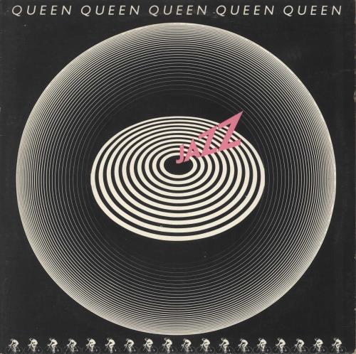 Queen Jazz - 1st + Poster - VG vinyl LP album (LP record) UK QUELPJA576668