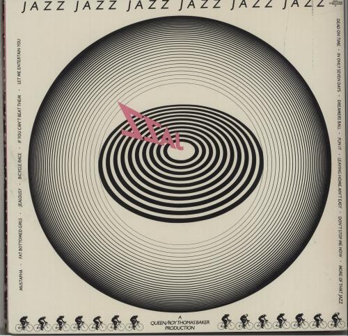 Queen Jazz - 1st - Complete - EX vinyl LP album (LP record) UK QUELPJA672792
