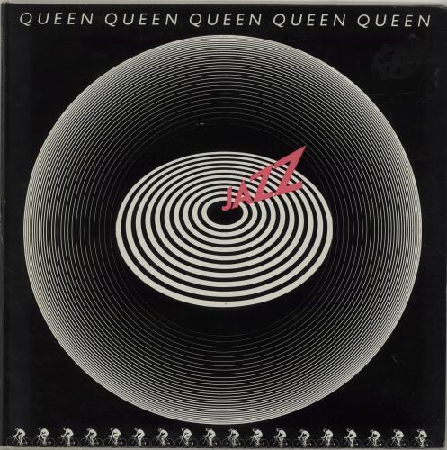 Queen Jazz - 3rd vinyl LP album (LP record) UK QUELPJA687478