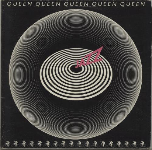 Queen Jazz vinyl LP album (LP record) UK QUELPJA615723